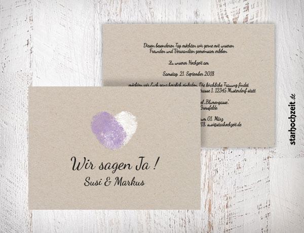 Einladung Hochzeit Foto | Einladungskarten Und Dankeskarten Fur Deine Hochzeit Selber Gestalten