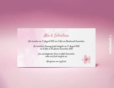 Einladung zur Hochzeit, Einladungskarte Mia, edle Stanzform, exklusive Veredelung, Ecken gestanzt, Wir heiraten, Einladungskarte, Einladungskarten, Hochzeitseinladung, Hochzeitseinladungen, Hochzeitseinladungskarte, Hochzeiteinladungskarten