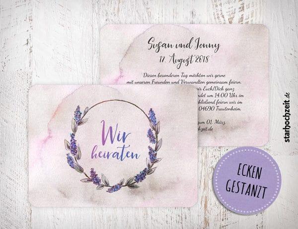 Einladungskarten Hochzeit, Einladungskarte zur Hochzeit, Susan und Jonny, Wir heiraten, Wir sagen ja, Hochzeitseinladungskarte