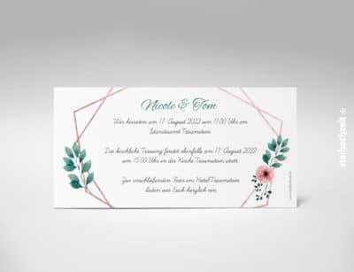 Einladungskarte Hochzeit, Hochzeitseinladung, Blush, Kupfer,Hochzeitseinladungen