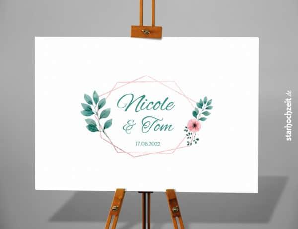 Eine wunderschöne und dekorative Erinnerung an einen ganz besonderen Tag. Deine bedruckte Leinwand für deine Hochzeitsgäste selber gestalten. Ein Hochzeitsgeschenk für die Ewigkeit welches du an deine Wand zu Hause aufhängen kannst. Hochzeitserinnerung und Hochzeitsgästebuch in Einem.